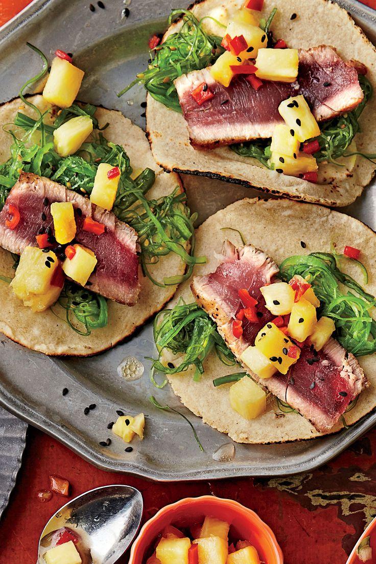 10 Taco Recipes from Around the World Tuna tacos, Best