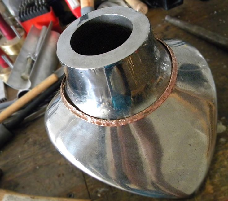 making a neck torque from copper tubing. Cool.
