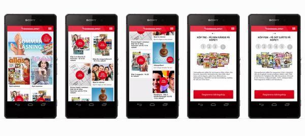 Dagens apptips: Tidningsklippet med rabatter & klippkort på magasin & veckotidningar i butik. Appen finns på både AppStore och Android Play och länk till appen finner du via länken nedan - http://www.tidningsklippet.se/om/