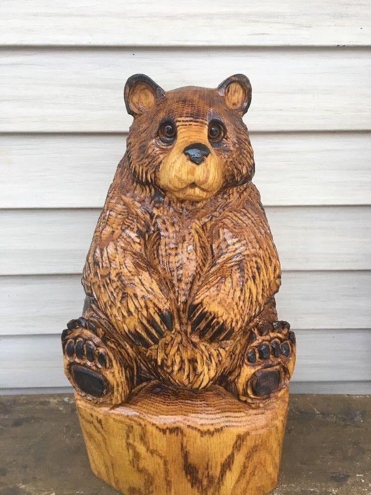 De bästa chainsaw carving ideas bilderna på pinterest
