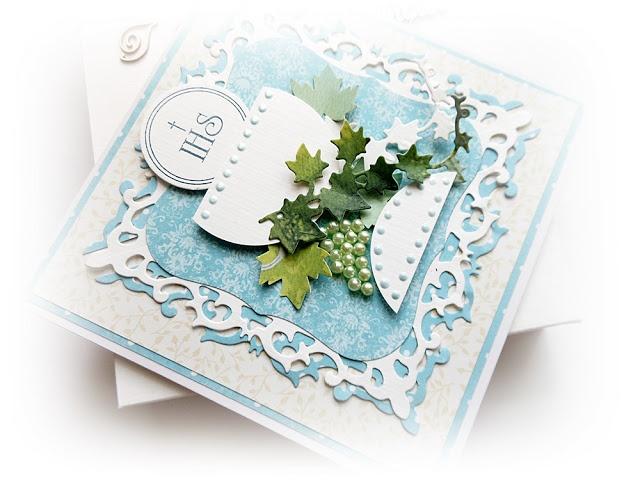 Cardmaking by jolagg: I Komunia Święta