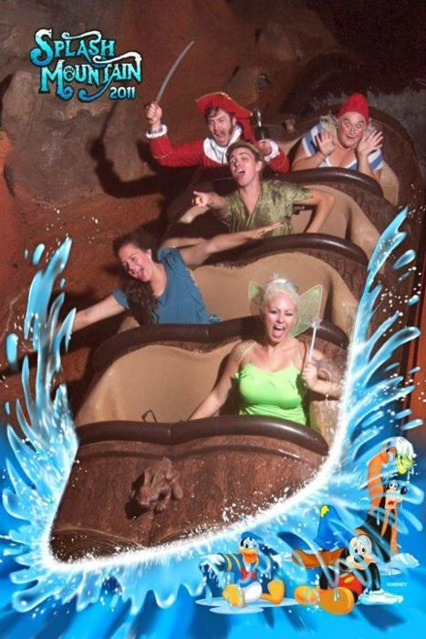 New favorite Splash Mountain picture!
