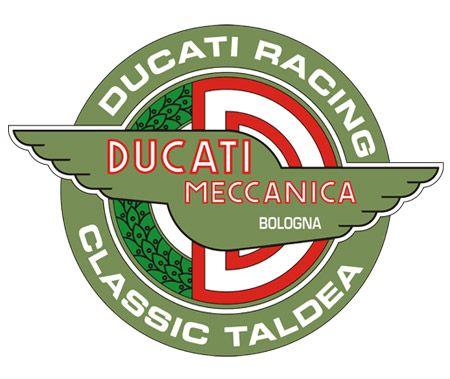 Logo Vector dan Gambar Ducati Racing Classic