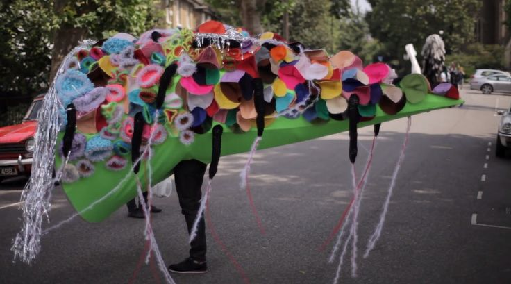 Ram Place Fashion Market London video making