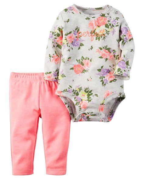2-Piece Bodysuit & Neon Pant Set from Carters.com. Shop clothing &…