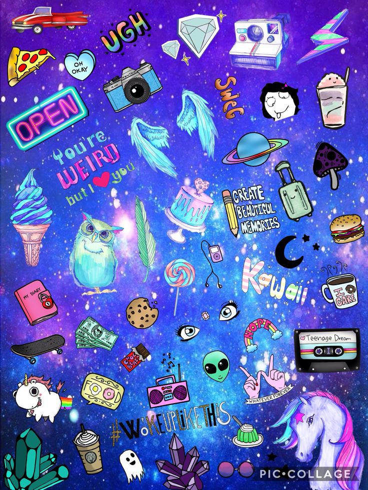 Teenage life Wallpaper by @melaniestrella7 in Pic-collage :)    #weird #stayweird #alien #food #wallpapers #backgrounds #galaxy #music #radio #ice-cream #🦄 #unicorns #pastel #wings #camera #photography #cofe #summer #Pic-collage
