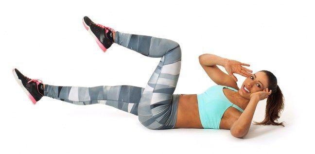 Hallo, Sixpack: 4 genial-einfache Übungen für einen flachen Bauch