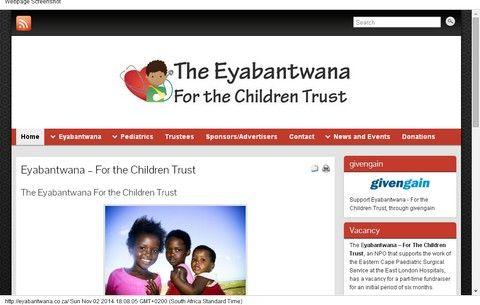 Eyabantwana - For the Children Trust