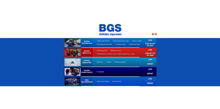 Web design BGS