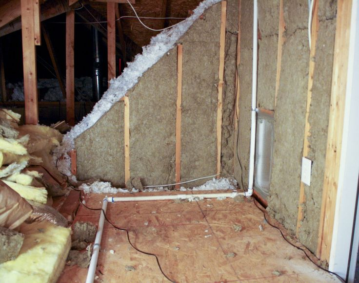 Roxul stone wool insulation is great for energy efficiency, and it also helps to absorb sound.