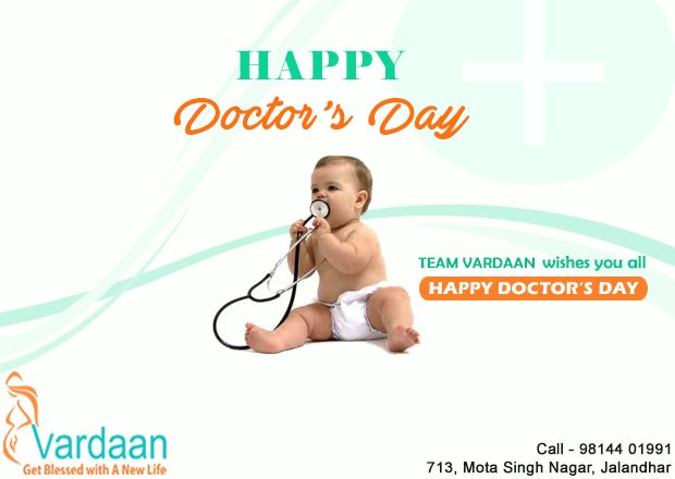 On the occasion of National Doctor's Day we thank all the fellow doctors for their passion , dedication and commitment towards the well being of others. - Team Vardaan