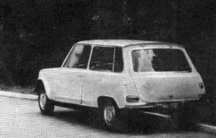 OG | 1961 FSO Syrena 'Delta' | Prototype