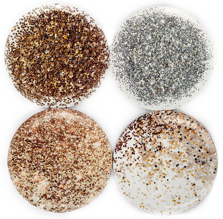 Glitterati Dinner Plate Set by elise flashman – BURKE DECOR