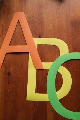 szabblonowo: Free printable alphabet set - capital letters. Alfabet do wydrukowania - duże litery.