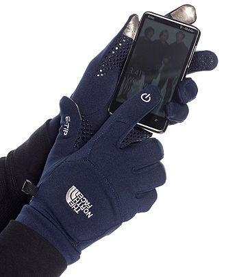 The North Face Gloves, Etip Gloves - Mens Hats, Gloves & Scarves - Macy's