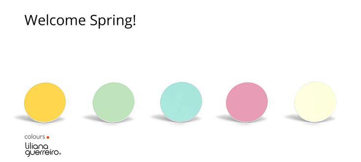 New colours Spring/Summer 2015   Colour collections  + info: www.lilianaguerreiro.com