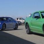 2013 Mustang V-6, 2013 Subaru BRZ Battle in Latest MT Video
