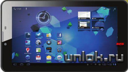 Разблокировка планшета Supra M726G 7 3G. Код.