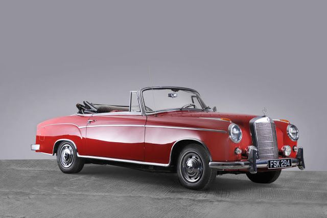 Mercedes-Benz 220S Ponton Cabriolet (1959)
