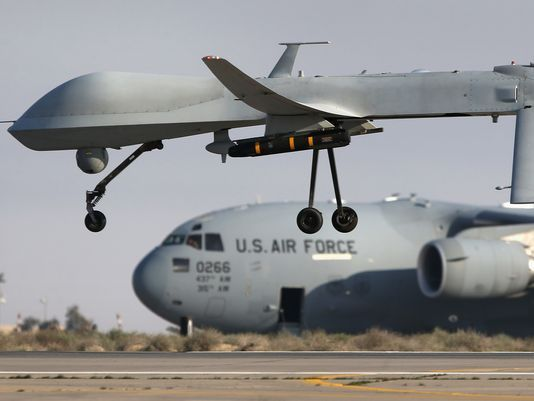 Pentagon report justifies deployment of military spy drones over the U.S.