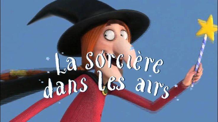 """""""La sorcière dans les airs""""... par les auteurs de """"Le Gruffalo"""" et de """"Le Petit Grufallo"""""""
