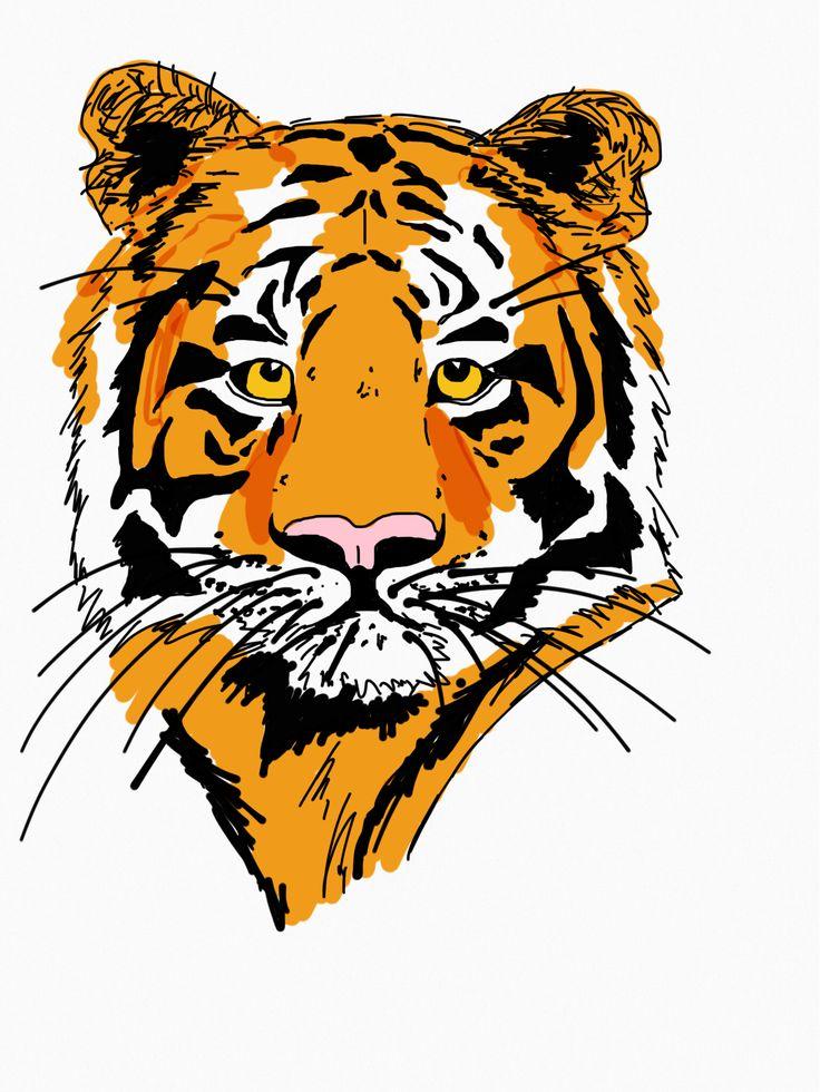 Tiger graphic. www.tobeme.com.pl