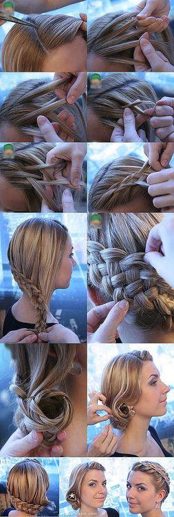 DIY Long Hair Style