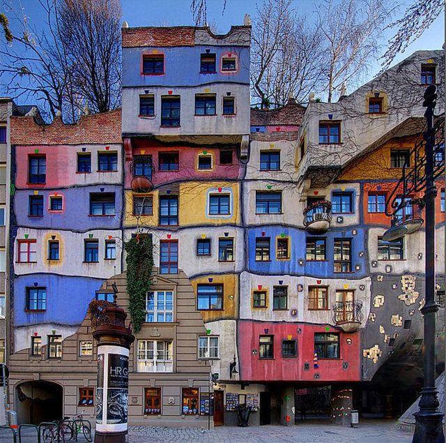 Hundertwasserhaus, Viyana, Avusturya