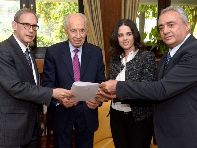 President Peres receives petition signed by 106 MKs to free Jonathan Pollard 01 Jan 2014.   The petition signed by 106 MKs from the coalition and opposition, Jews and Arabs, calls for the release of Jonathan Pollard from prison in the United States of America.