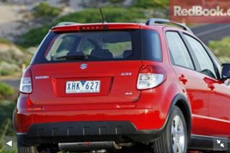 2010 Red Suzuki SX4 2 litre