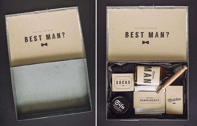 Wedding Gift Ideas For Bestman And Ushers: 29 Best Images About CHWV ♥ Best Man Proposals On