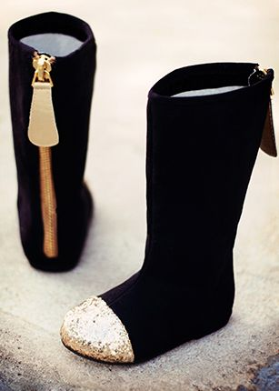 *NEW* Chloe in Black, this website has the cutest boots and shoes for girls