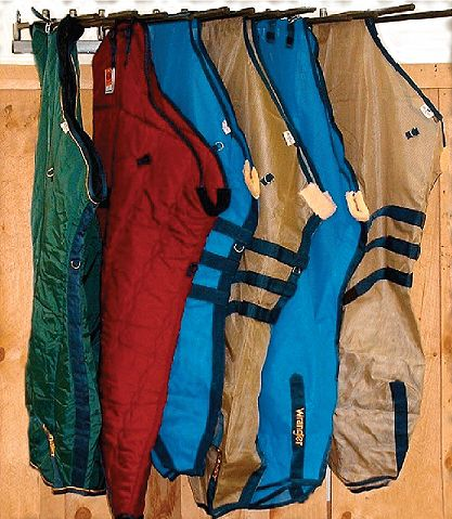 tack room blanket rack - Google Search A must have for the tack room.
