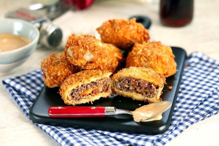 Hagymakarika burger • Fördős Zé Magazin