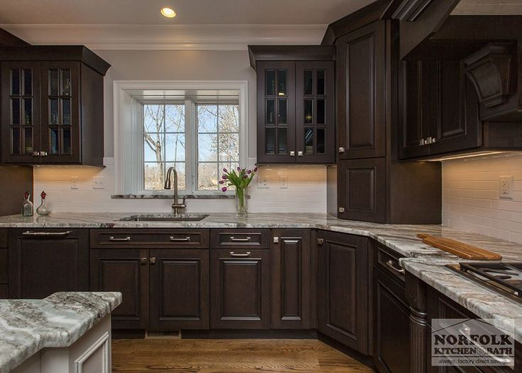 ... Cherry Kitchen Cabinets #kitchenremodelshowroom Kitchen Makeover    Kitchen And Bath Factory ...