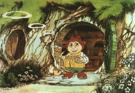 Have I watched the cartoon? Yes I did. And I still do, today. This Hobbit will always be my favorite.