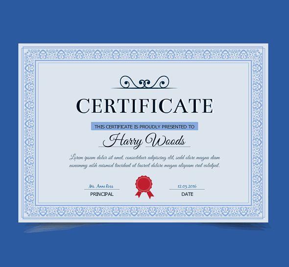 12 best certificate desgin images on Pinterest | Certificate design ...