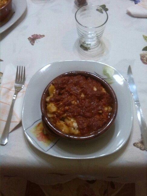 Il mio pranzo della domenica!.. gnocchi al tegamino. Buon appetito a tutti!..