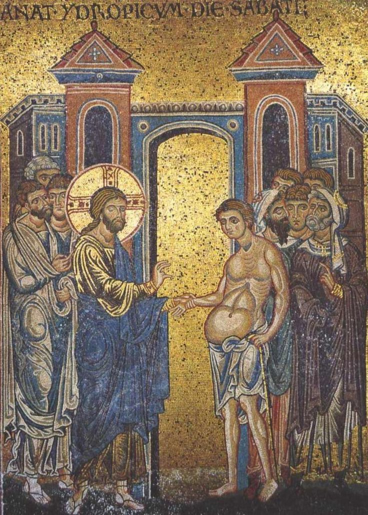 01 Anonymous. Christ in the Pharisee's House. Duomo di Monreale. Monreale (Sicily) (IT)
