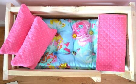 how to make a mattress for a doll cradle