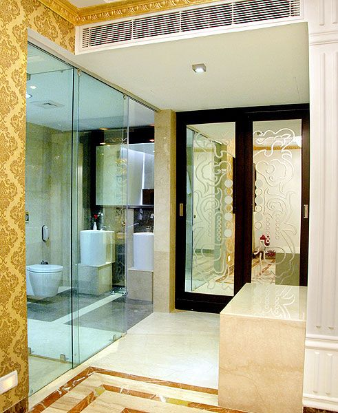 Washroom of the Presidential Suite