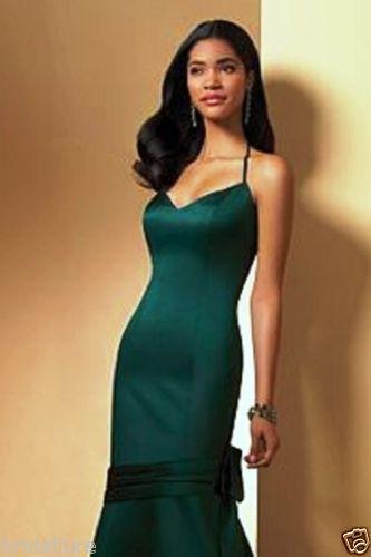 Hunter Green Bridesmaid Dresses Alfred Angelo