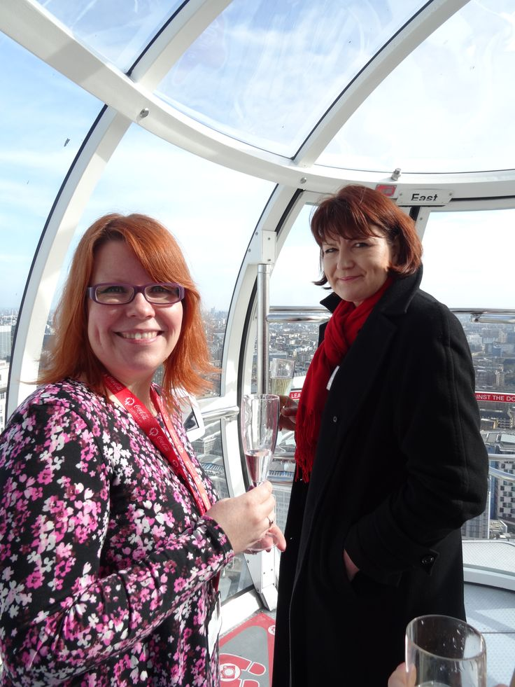 On The Coca-Cola London Eye