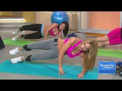 Mira cómo puedes mejorar los músculos de tus piernas y caderas como Claudia Molina, en Despierta América. http://entretenimiento.univision.com/despierta-america  http://entretenimiento.univision.com/despierta-america/videos/  http://foro.univision.com/t5/Despierta-Am%C3%A9rica/bd-p/despiertaamerica  Karla Martínez Raúl González  Chiquinquirá Del...