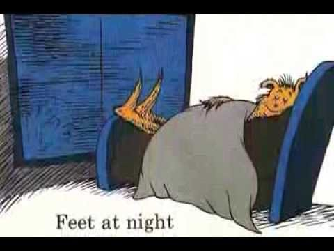 Dr. Seuss' The Foot Book THE KIDS WILL LOVE TO READ ALONG :)