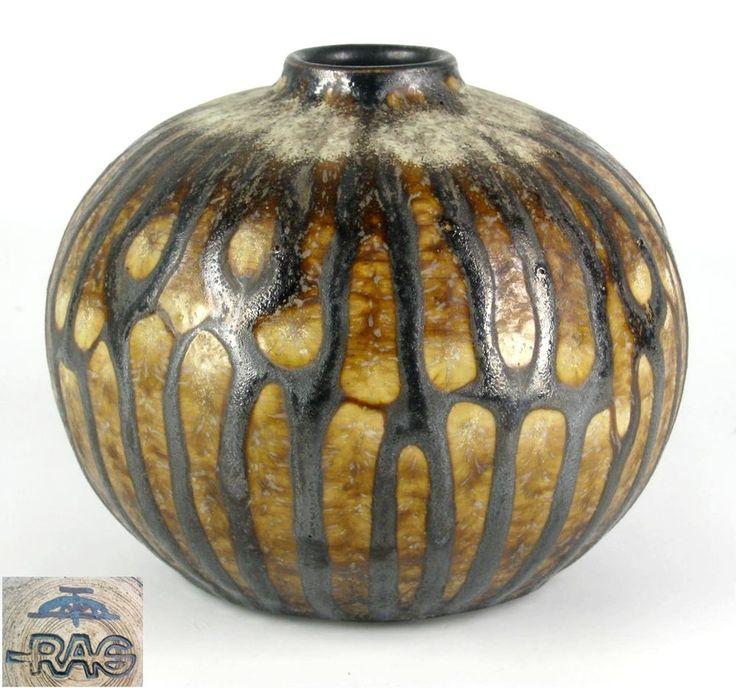 Margarethenhöhe Keramik Vase 60er 70er Jahre Design Vintage Pottery Vase 10cm