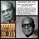 """Bob Douglas becomes the 1st African American elected to the Basketball Hall of Fame.  Robert L. """"Bob"""" Douglas was the founder of the New York Renaissance basketball team. Nicknamed the """"Father of Black Professional Basketball"""", Douglas owned and coached the Rens from 1923 to 1949, guiding them to a ...Bob Douglas becomes the 1st African American elected to the Basketball Hall of Fame.  Robert L. """"Bob"""" Douglas was the founder of the New York Renaissance basketball team. Nicknamed the """"Father…"""