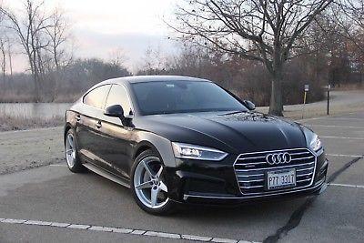 2018 Audi A5 Sportback 2018 Audi A5 2.0T Premium Plus Sport