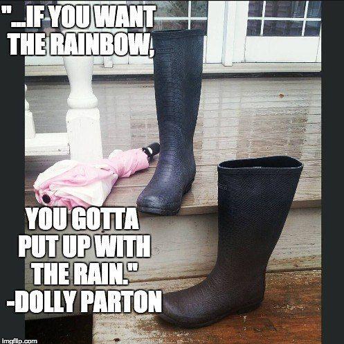 Grab your #umbrella and #bearpaw #constance #rainboots to #weather the #storm.  @itsmeghandavis #bearpawstyle #bearpaw_kr #bearpaweurope #bearpawmongolia #bearpawlatam #clouds #inspiration #dollyparton #nature #cold