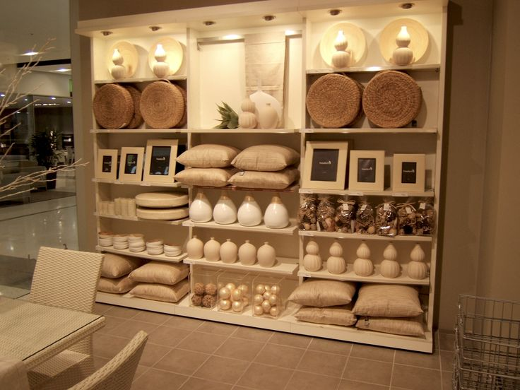 Visual Merchandising. Retail store display. Home. Decor.